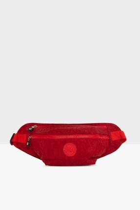 Bagmori Kadın Kırmızı Armalı Büyük Bel Çantası M000004987