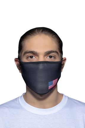 ANGELINO Maske Telli Yıkanabilir Biyeli Us No 39