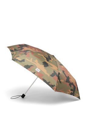 Herschel Herschel Şemsiye Compact Umbrella Woodland Camo/black