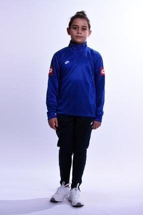 Lotto Unisex Çocuk Mavi Spor Eşofman Takımı  R4250