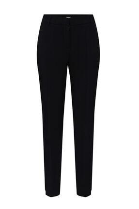 W Collection Kadın Siyah Boru Paça Pantolon