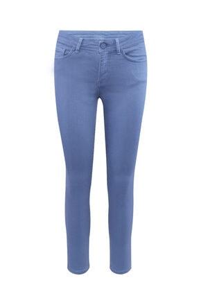 W Collection Kadın Mavi 5 Cep Jean Pantolon