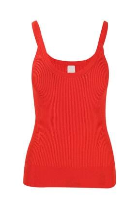 W Collection Kadın Kırmızı Triko Atlet