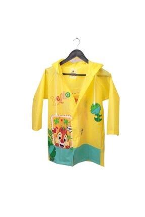 Sanbe 905 S 7001 Unisex Sarı L Çocuk Yağmurluk