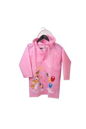 Sanbe Pembe Kız Çocuk Yağmurluk Pembe-m 905 S 7001