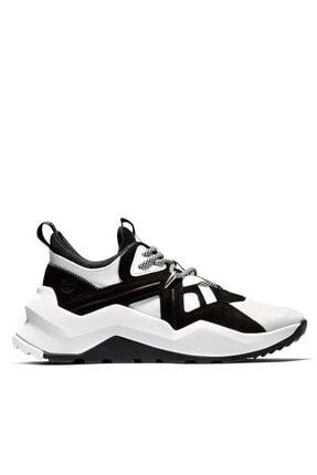 Timberland Kadın Madbury Siyah Beyaz Süet Kumaş Dikişli Spor Ayakkabı