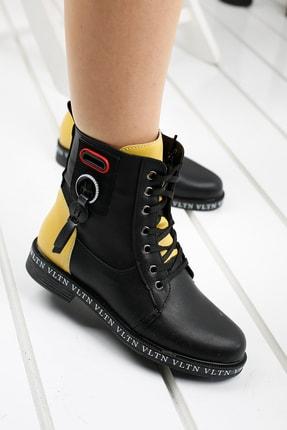 Ayakland Kadın Siyah Günlük Termo Taban Bot Ayakkabı Despina 41-1