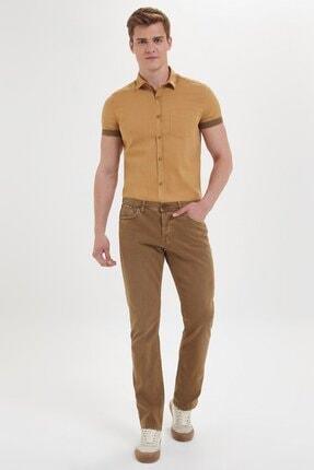 Loft Erkek Kahverengi Regular Fit Koyu Pantolon