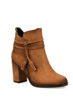 Punto Kadın Kahverengi Topuklu Bot