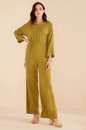 Kayra Kadın Yeşil Tulum-b20-22002-25