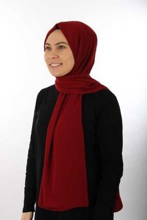 Armine Kadın Bordo Trend Medine Ipeği Şal