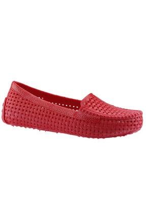 Muya 90476 Kırmızı Plaj Deniz Havuz Babet Deniz Ayakkabısı