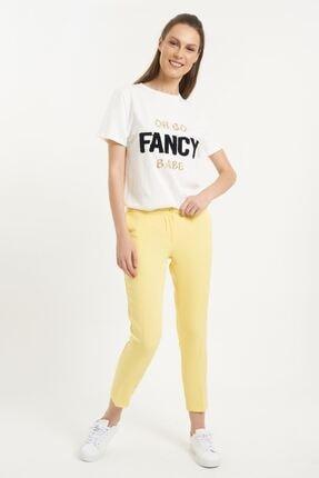 Batik Kadın Sarı Pantolon