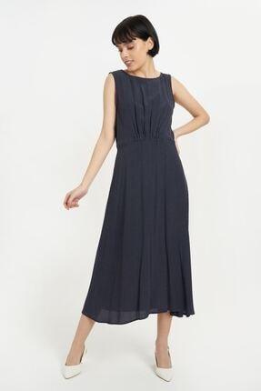 Batik Kadın Lavcivert Puantiyelı Elbise