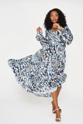 Batik Kadın Lacivert Elbise
