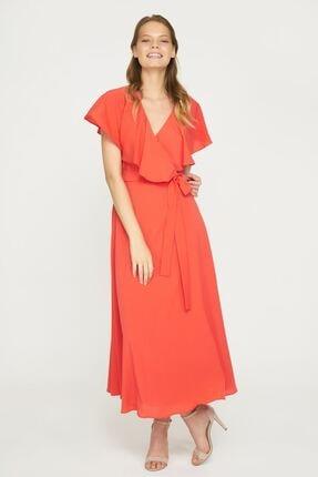 Batik Kadın Mercan Kısa Kol Elbise Y10818 Dkm
