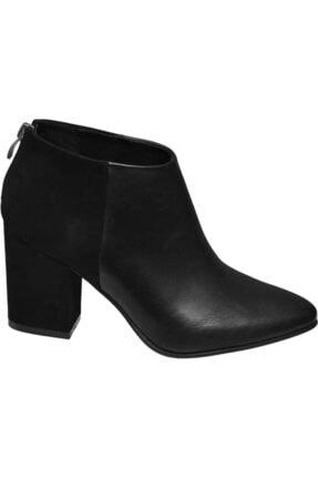 Graceland Kadın Siyah Topuklu Bot