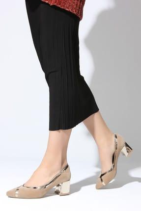 Rovigo Vizon Kadın Topuklu Ayakkabı 111181158-02
