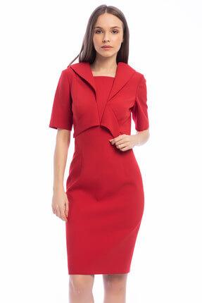 Gizia Kadın Kırmızı Elbise M15K5T1031