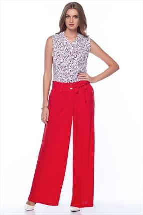 Pitti Kadın Kırmızı Pantolon 40052