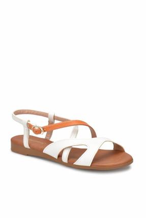 Polaris 81.310140.Z Beyaz Kadın Sandalet 100315327