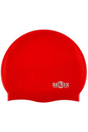 Selex Sc401 Silikon Yüzücü Bonesi (kırmızı)