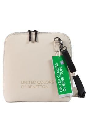 Benetton Bej Kadın Postacı Çantası BNT65