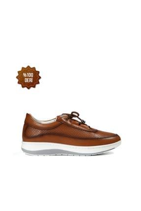 Hammer Jack Hakiki Deri Taba Kadın Sneaker 314 1004-Z-144