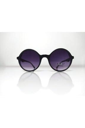 Silvio Monetti Siyah Yuvarlak Kadın Güneş Gözlüğü Sm8026
