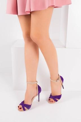 Fox Mor Ten Kadın Topuklu Ayakkabı B922113802