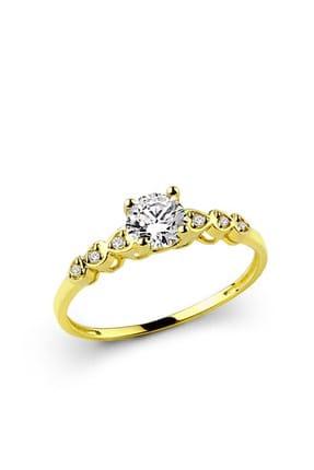 Ejoya Kadın Kalplerimiz Altın Yüzük MLK1005 67414