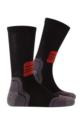 Thermoform Termolite 4 Mevsim Running Çorap Siyah 43-46