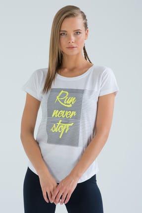 Speedlife Kadın T-Shirt Ruled