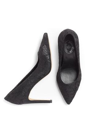 Brooks Brothers Kadın Siyah Red Fleece Topuklu Ayakkabi 1-00104896