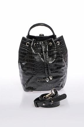 Sergio Giorgianni Kadın Siyah Omuz Çantası sg1082019-2-siyah