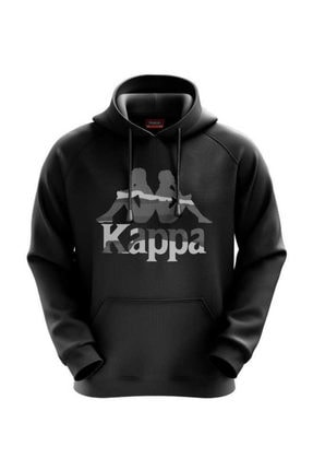 Kappa Kadın Siyah Sweatshirt