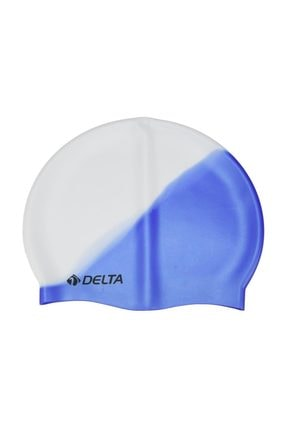 Delta Delta Silikon Bone 10 Adet Yüzücü Havuz Deniz Bonesi (Gökkuşağı)