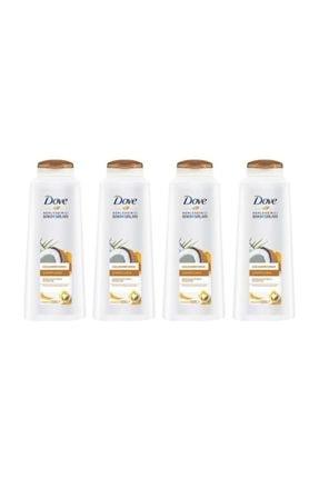 Dove Hindistan Cevizi Özlü Güçlendirici Şampuan 550 Ml X 4