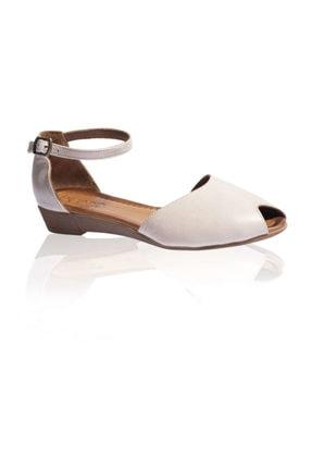 Bueno Gri Kadın Sandalet 9N7202