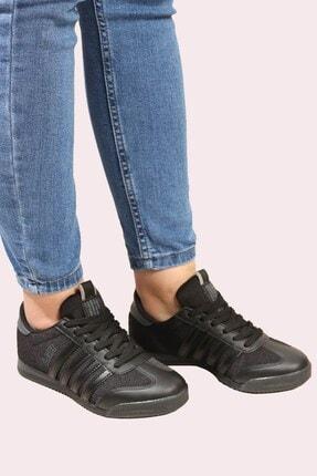 Derigo Kadın Siyah Füme  Spor Ayakkabı 703217