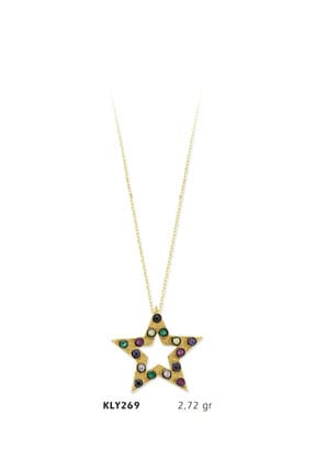HAREM ALTIN 14 Ayar Altın Yıldız Kolye KLY269
