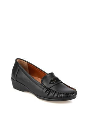 Polaris 92.151014.Z Siyah Kadın Loafer Ayakkabı 100428423