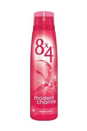 8x4 Deo Sprey Modern Charme 150 ml Kadın