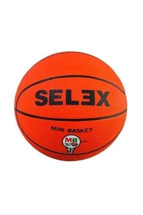 Selex B - 5 Numara Mini Basket 500 Basket Topu 5/10 Turuncu