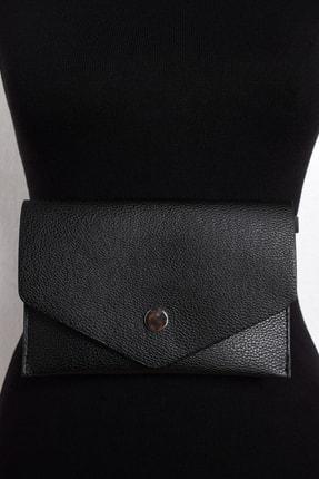 Cool & Sexy Kadın Siyah Bel Çantası BE225