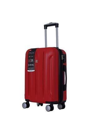 ITLUGGAGE Kırmızı Unisex Orta Valiz & Bavul 16281