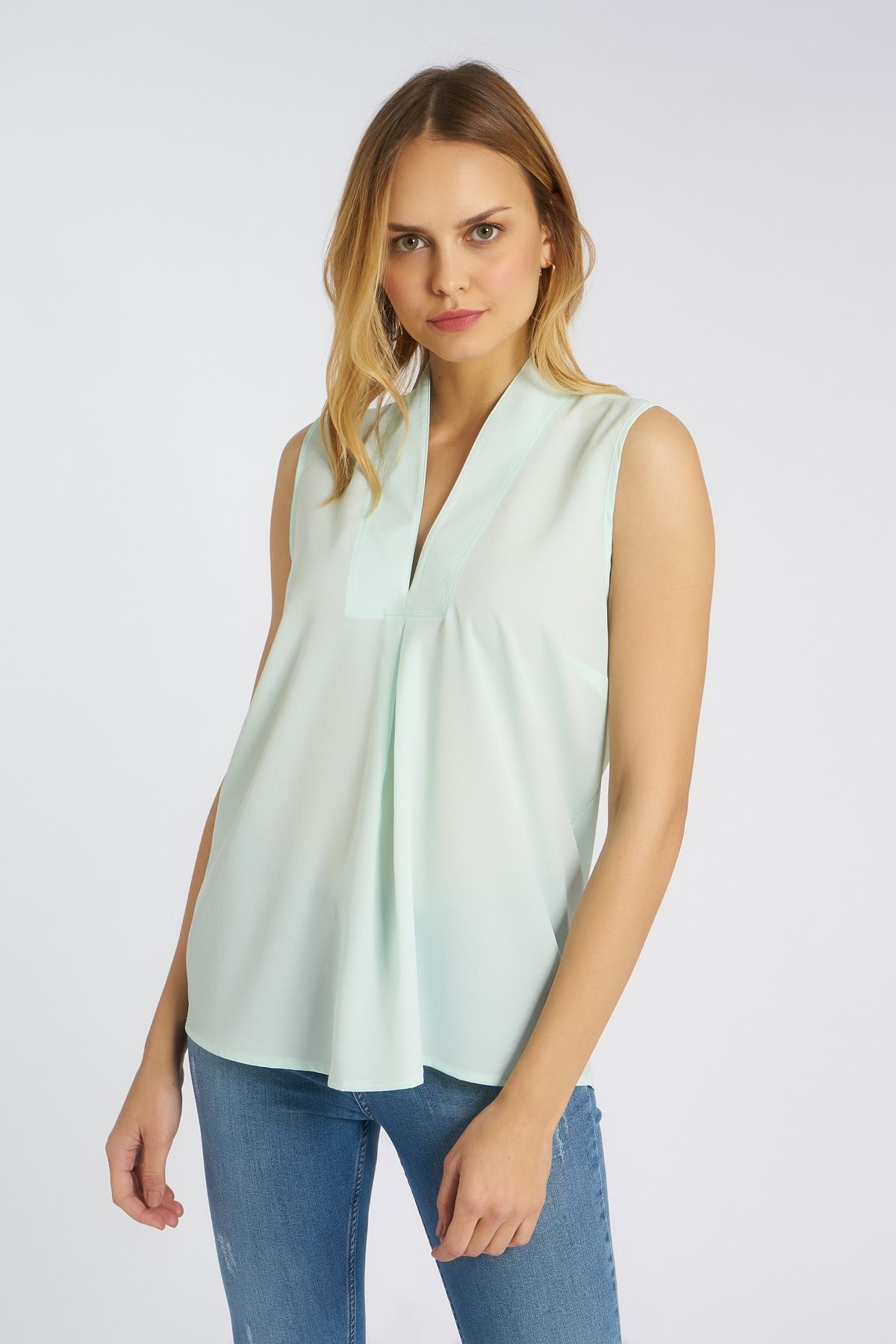 Home Store Kadın Mint Bluz 19230007153