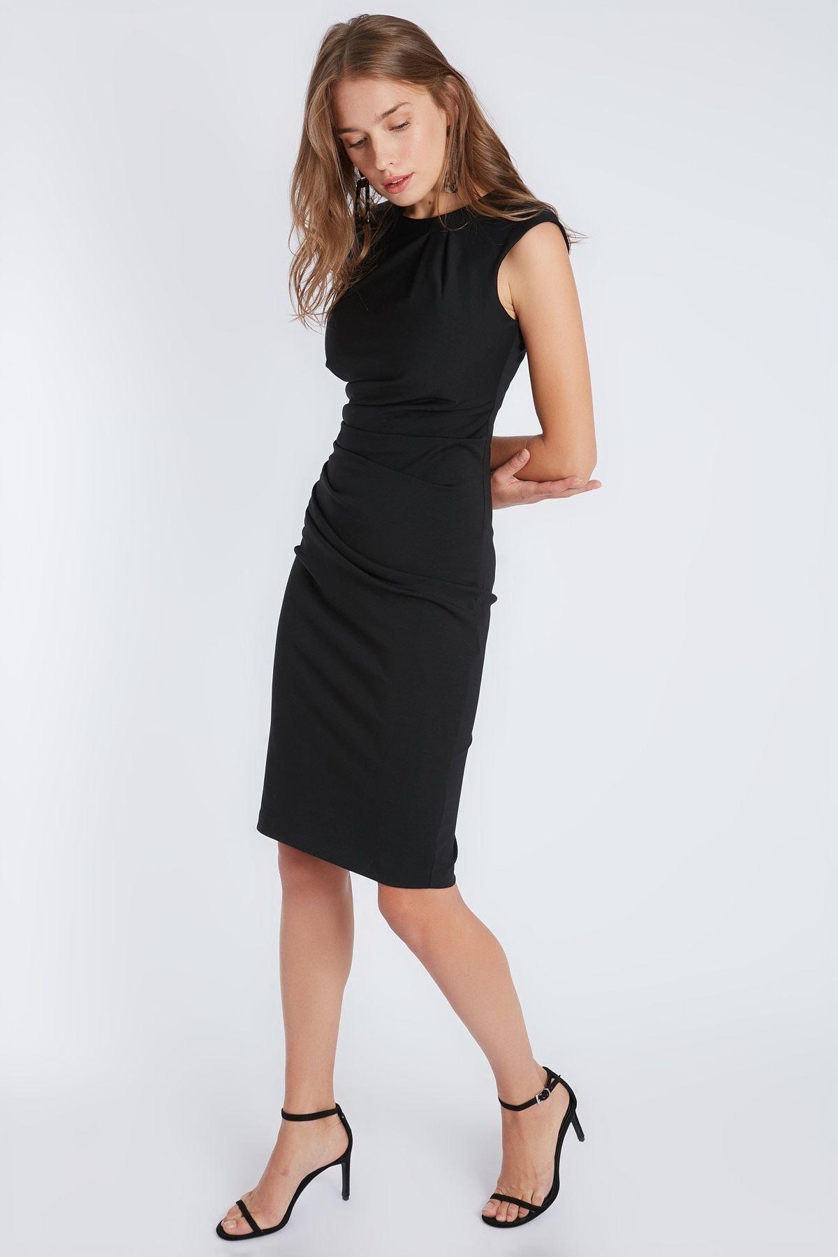 Home Store Kadın Siyah Elbise 19501091025