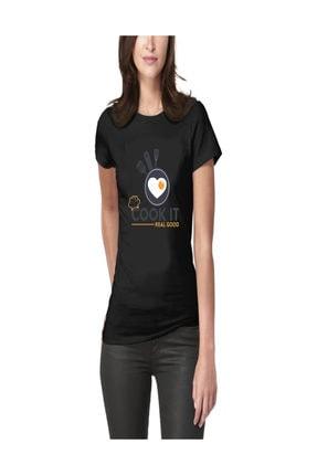 Art T-shirt Cook It Kadın Tişört