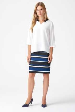 Naramaxx Kadın Beyaz Bluz 18K111181154